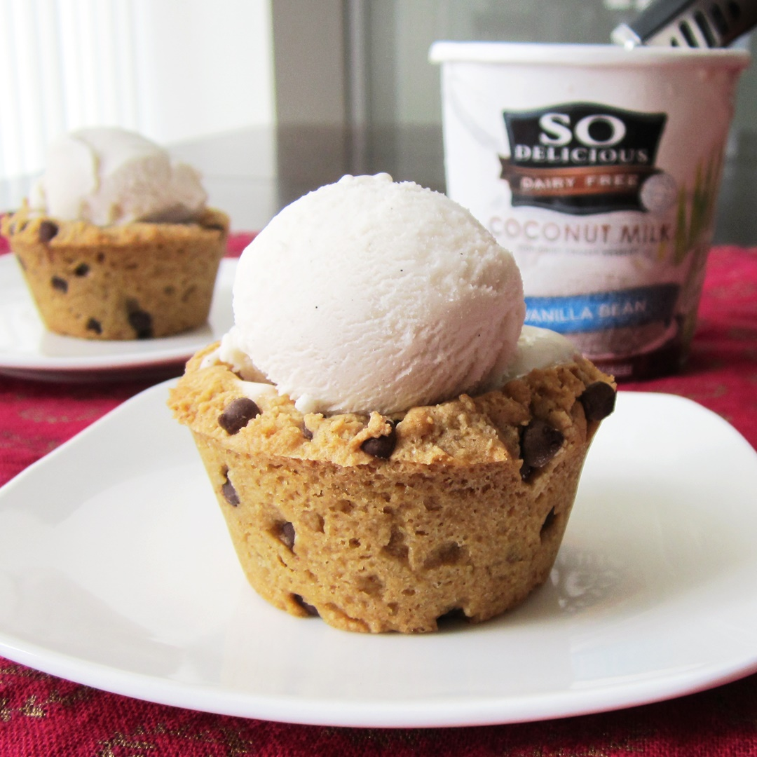 Dairy Free Ice Cream Cookie Cups