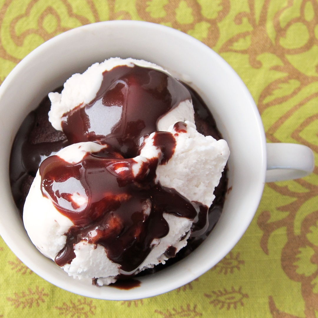 Vegan Mint Chip Brownie Mug Sundae + More Ways to Enjoy Dairy-Free Ice Cream