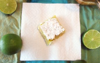 Dairy-Free Lime Bars - easy, delicious Kids Can Cook recipe!
