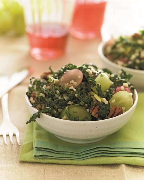 Bulgur Salad with Grapes