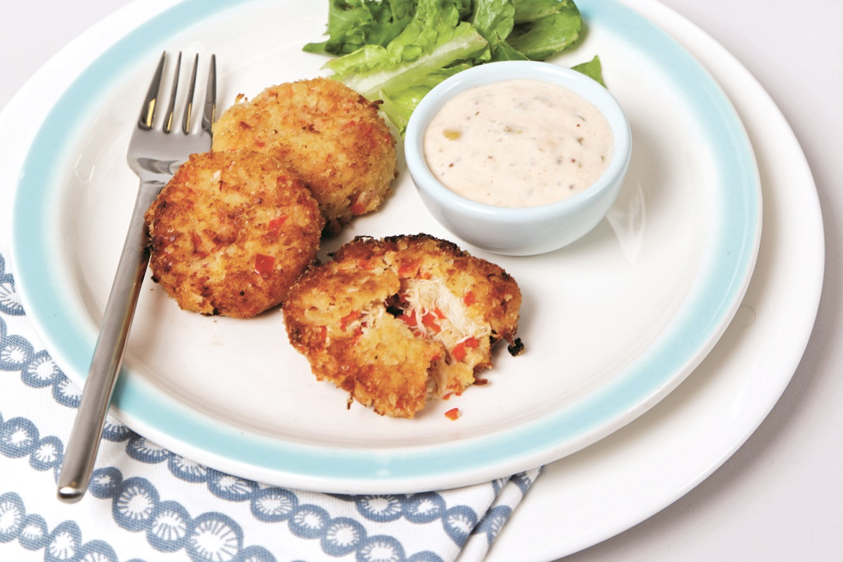 Crab Cake Recipe Low Calorie: New Orleans Crab Cakes Recipe (Dairy-Free & Lower Fat