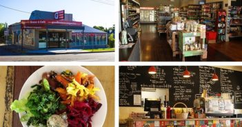 Goodness Me Organics Grocer and Cafe in Adamstown, NSW has a great dairy-free selection