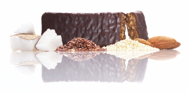 Keenwah Decadence Organic Energy Bars - Almond Coconut