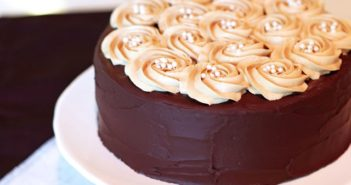 Mocha Layer Cake with Coffee Buttercream (Vegan, Dairy-Free, Gluten-Free Recipe!)