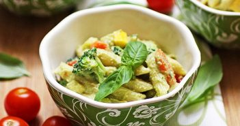 Vegan Pasta Primavera Recipe by Robin Robertson (dairy-free, gluten-free optional)