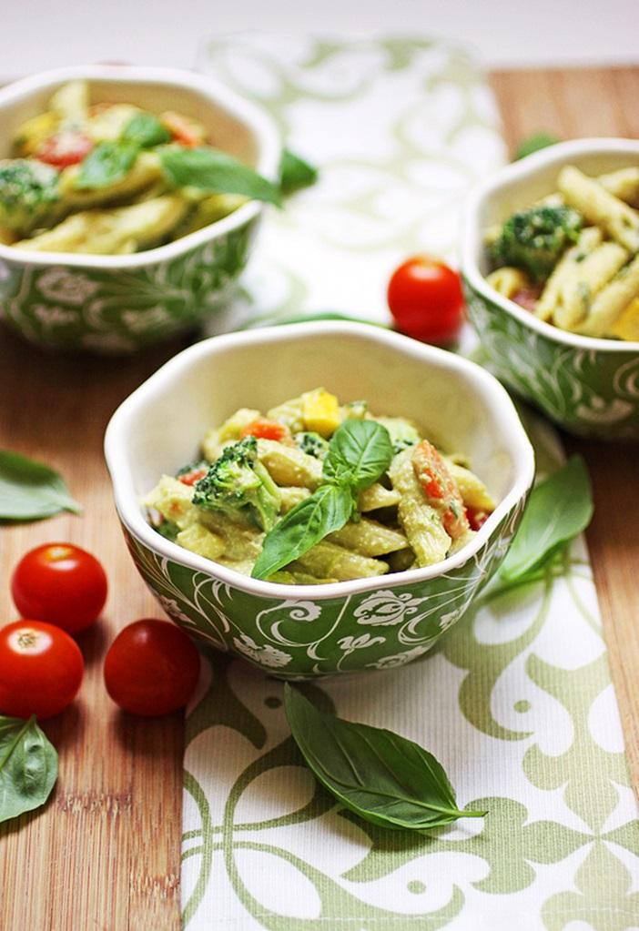 Creamy Vegan Pasta Primavera Recipe by Robin Robertson (dairy-free, gluten-free optional)