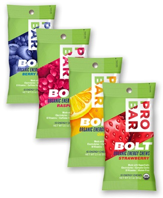 ProBar BOLT Organic Energy Chews - Vegan