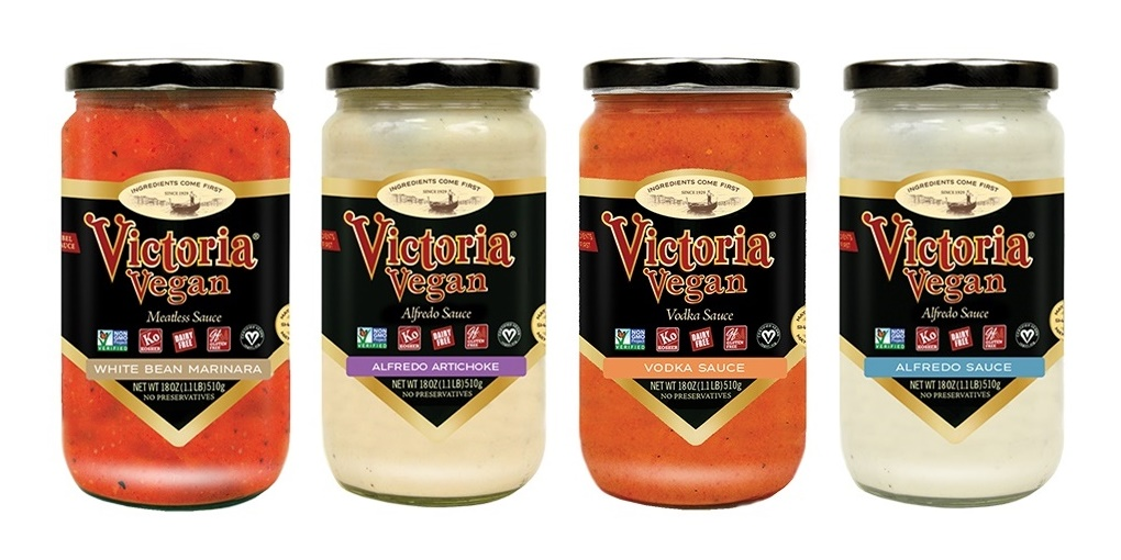 Victoria Vegan Sauces - dairy-free alfredo sauces and creamy red sauces (Review)