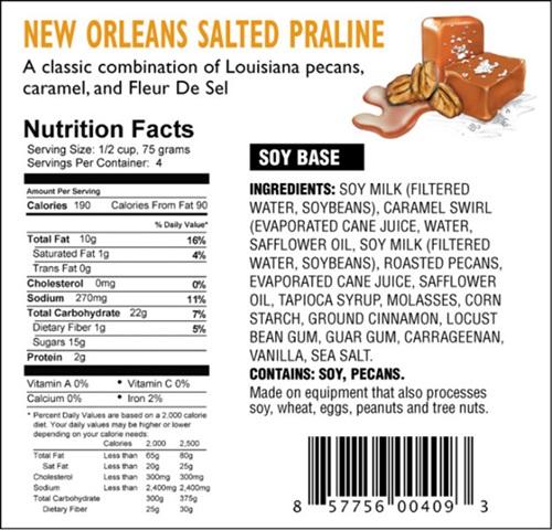 DF Mavens Dairy-Free Frozen Dessert New Orleans Salted Praline