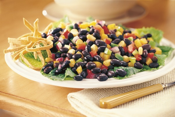 Easy Black Bean and Corn Salad Recipe - Go Dairy Free
