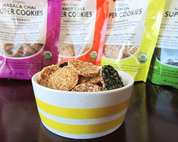 Go Raw Organic Super Cookies