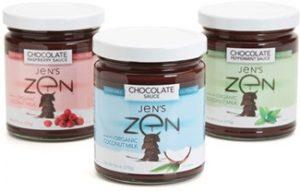 Jens Zen Chocolate Sauce 325 - Dairy-Free Gluten-Free Vegan