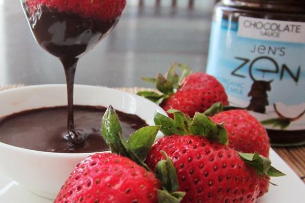 Jens Zen Chocolate Sauce Dip - Vegan Gluten Free