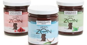 Jens Zen Chocolate Sauce Feature - Dairy-Free Gluten-Free Vegan