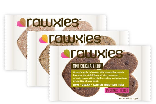 Dairy-Free Products: New Rawxies Raw Cookies