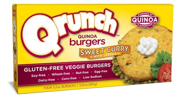 Qrunch Quinoa Burgers - Dairy-Free, Gluten-Free, Soy-Free, Vegan