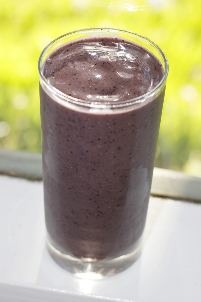 Smoky Joe's Vegan Blueberry Smoothie Recipe