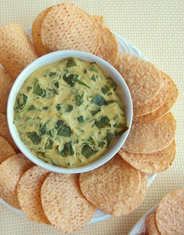 Artichoke Curry Vegan Spinach Dip - Dairy-Free, Gluten-Free