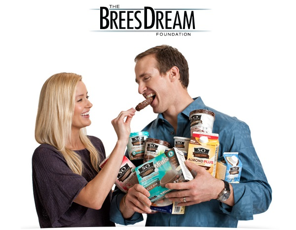 The Brees Dream Foundation - So Delicious Dairy Free + Brittany & Drew Brees
