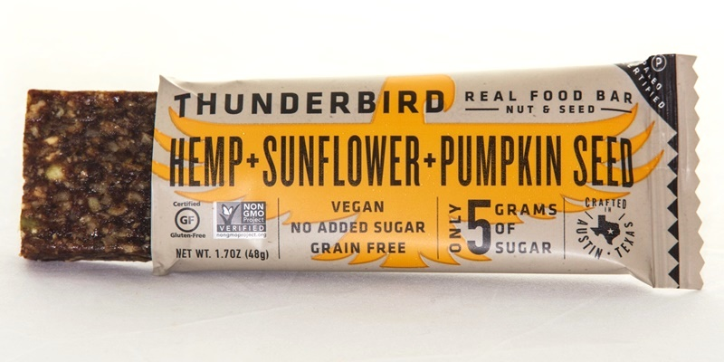 Thunderbird Real Food Bars - full of fruit, nuts, seeds and spices - that's it! A more unique array of flavors and nutritionals than other brands (vegan, dairy-free, gluten-free, paleo)