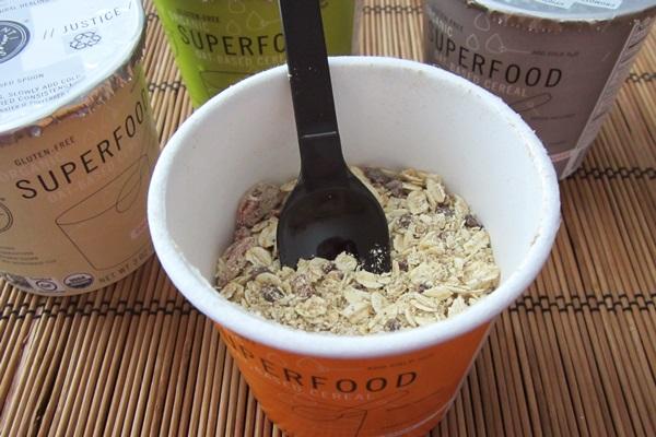 Vigilant Eats Organic Superfood Oat-Based Instant Cereal