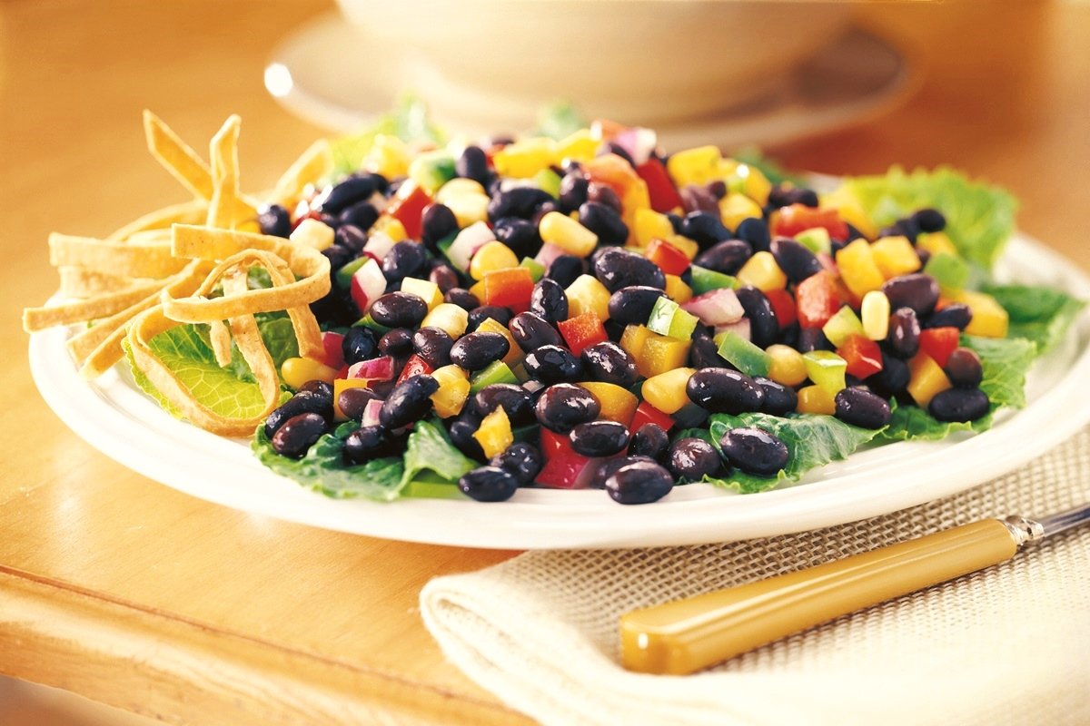 Southwestern Black Bean Salad Recipe - High in Flavor and Freshness, Mild in Heat. Plant-based, dairy-free, gluten-free, and allergy-friendly.