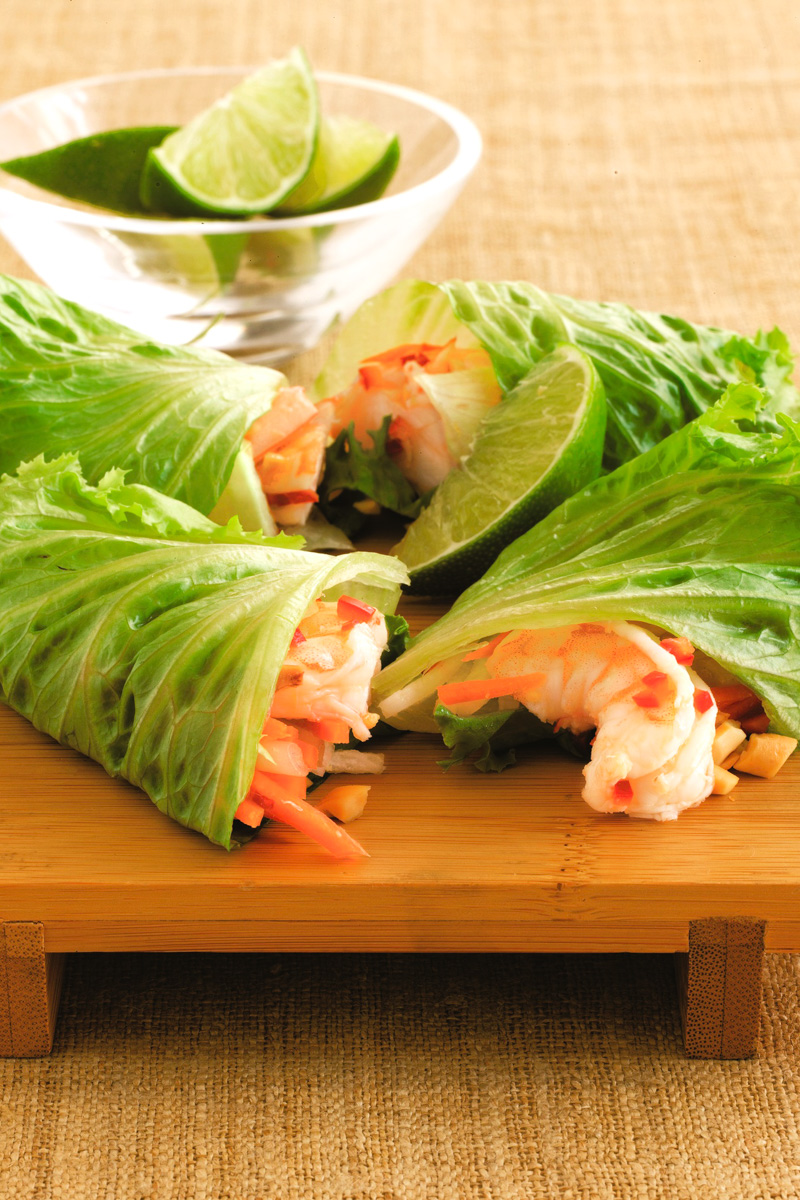 Thai-Inspired Light and Easy Lettuce Wraps Recipe - Dairy-free, Gluten-free, Paleo + Vegan Options