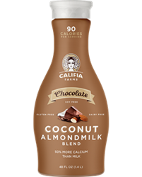 Califia Farms Almondmilk Reviews and Information - dairy-free, gluten-free, soy-free, and vegan. Various flavors ... Pictured: Chocolate Coconut