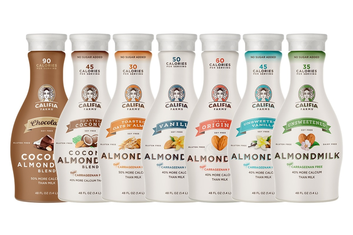 Califia Farms Almondmilk Reviews and Information - dairy-free, gluten-free, soy-free, and vegan. Various flavors ... Pictured: All Year Round Flavors