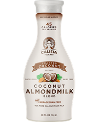 Califia Farms Almondmilk Reviews and Information - dairy-free, gluten-free, soy-free, and vegan. Various flavors ... Pictured: Toasted Coconut