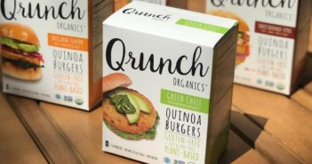 Qrunch Quinoa Burgers Pack Ancient Grains into a Modern Patty - Reviews and Info - Vegan, Gluten-Free, Top Allergen-Free