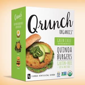 Qrunch Quinoa Burgers Pack Ancient Grains into a Modern Patty - Reviews and Info - Vegan, Gluten-Free, Top Allergen-Free