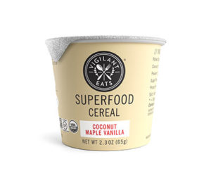 Vigilant Eats Organic Superfood Cereal Cups can be Enjoyed Cold