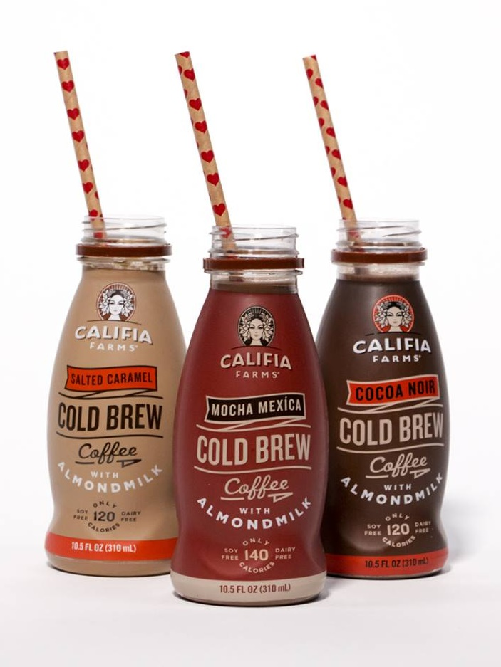 Califia Farms Iced Coffees with Almond Milk - Now available in single serve and tons of flavors! (dairy-free, vegan, soy-free)