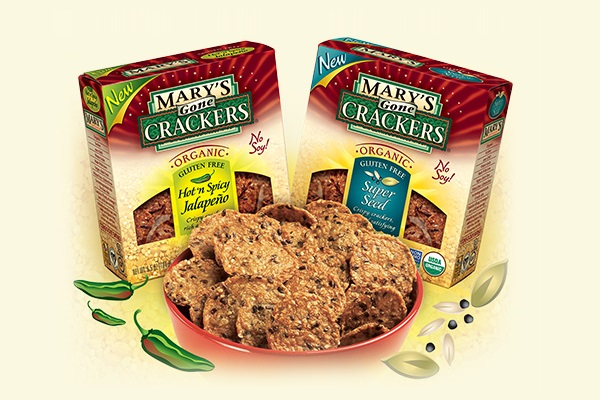 Dairy-Free Low Sugar Snacks - Marys Gone Crackers