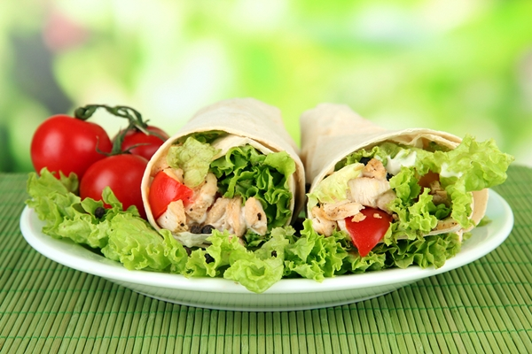 Dairy-Free Meals - Loaded Chicken Burritos