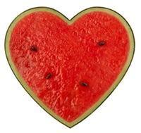 Dairy-Free Watermelon Recipes - Heart