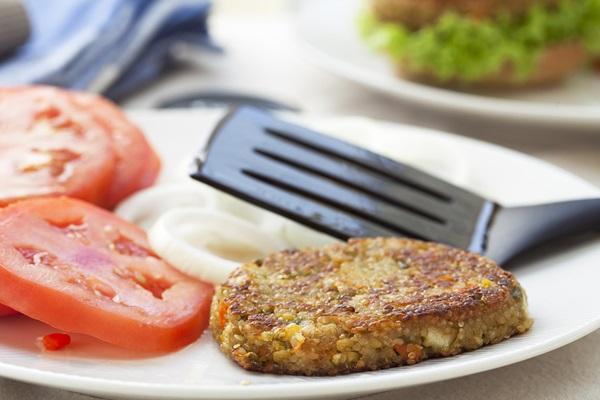 Dairy-Free and Vegan Burgers - Quinoa Veggie Burgers