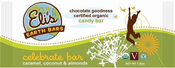 Elis Earth Bars - Vegan Organic Candy Bars - Celebrate