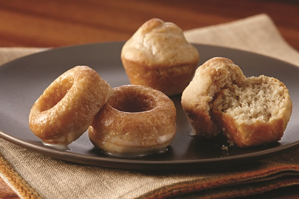 Mini Baked Donuts Recipe with Vanilla, Maple or Mocha Glaze