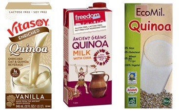New Allergy-Friendly Foods - Quinoa Milk