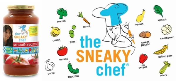 New Allergy-Friendly Foods - Sneaky Chef Pasta Sauce