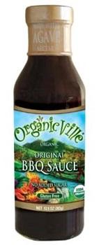 Organicville Organic BBQ Sauces - Organic, Gluten-Free, Vegan