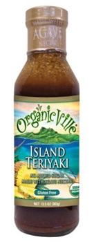 Organicville Organic Teriyaki Sauces - Organic, Gluten-Free, Vegan