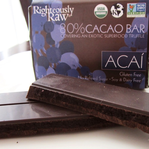 Righteously Raw Chocolate Truffle Bars