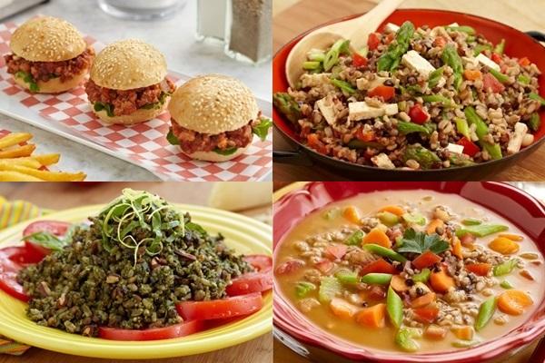 SooFoo Organic Grains - Four Recipes