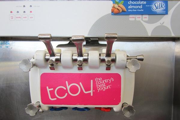 TCBY Silk Chocolate Almond Milk Dairy-Free Frozen Yogurt