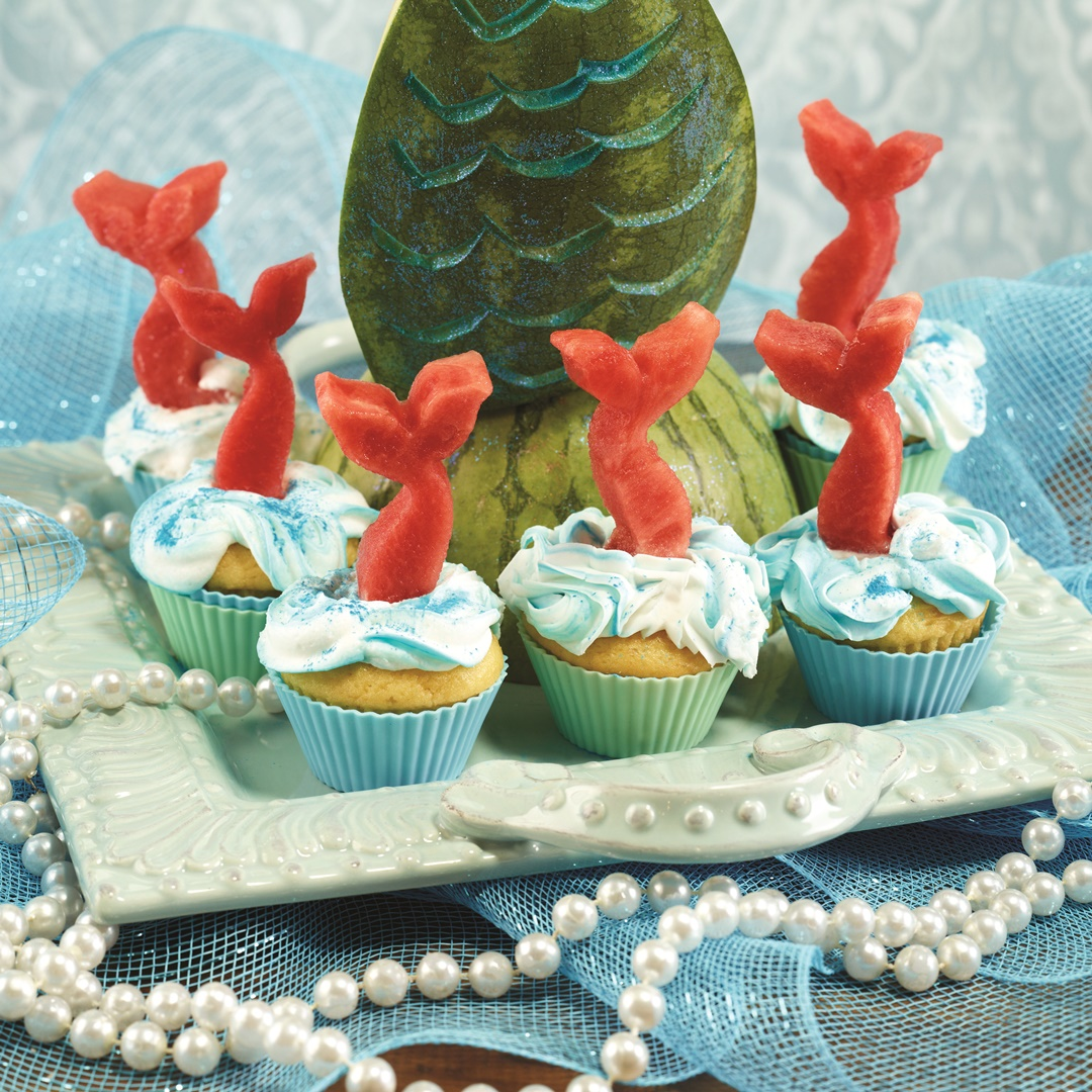 Mermaid Cupcakes Decor How To With Recipes For All