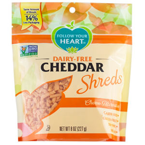 Follow Your Heart Dairy Free Shred Cheese Alternative Reviews and Info - top allergen free and vegan