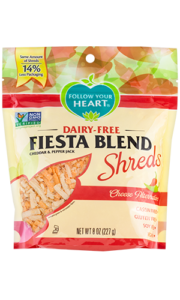 Follow Your Heart Dairy Free Shred Cheese Alternative Reviews and Info - top allergen free and vegan (formerly Vegan Gourmet)